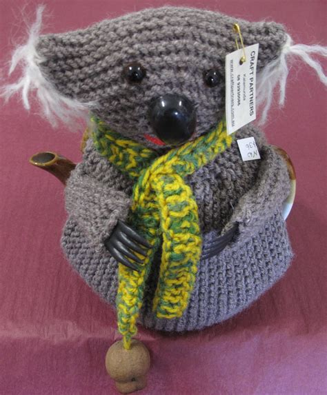 Cozy Koala tea cosy koala craft partners