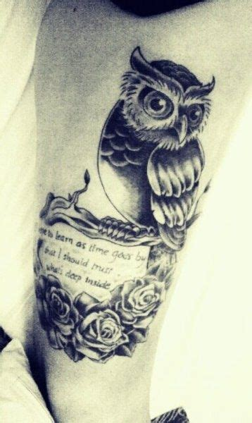 owl tattoo sayings image gallery owl tattoo sayings