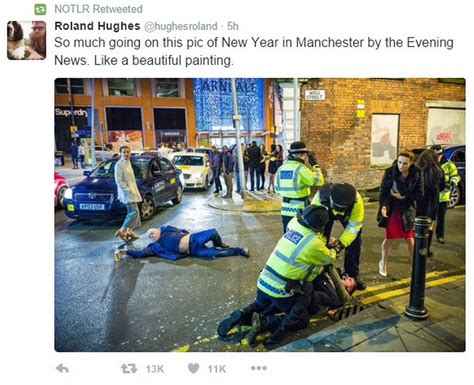 manchester new year the best reactions to that new years picture
