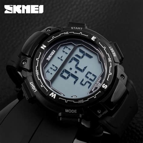 Skmei Pioneer Jam Tangan Led Digital Waterproof 5 Promo skmei jam tangan digital pria dg1067 black