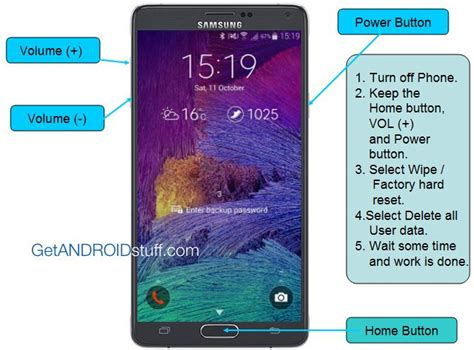 factory reset the note 4 how to factory reset galaxy note 4 or hard reset manually