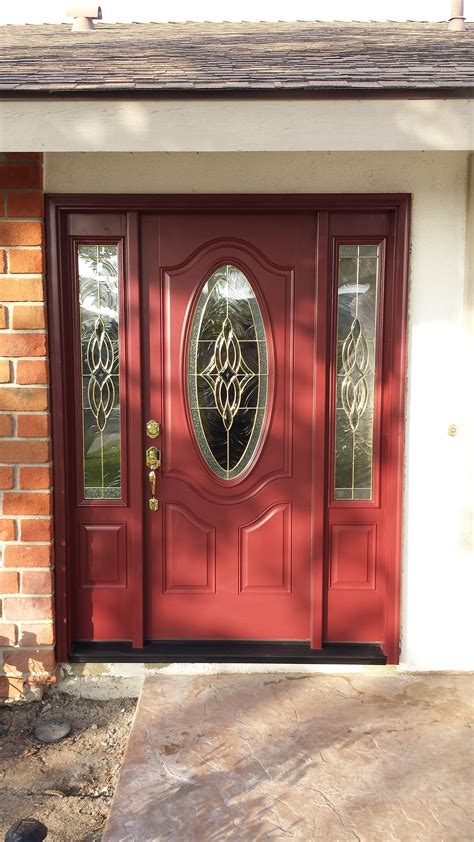 change   replace  double doors   large
