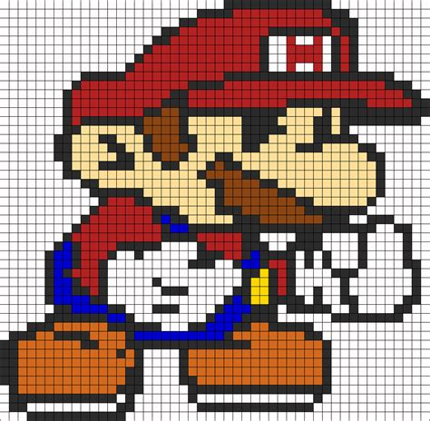 mario perler bead pattern mario perler bead pattern bead sprites characters fuse