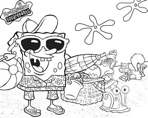 11 spongebob squarepants coloring pages print color craft