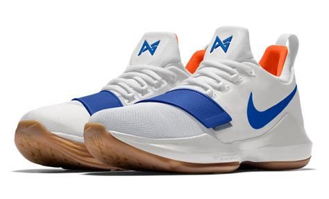 okc thunder colors nikeid pg 1 okc thunder colors sneaker bar detroit
