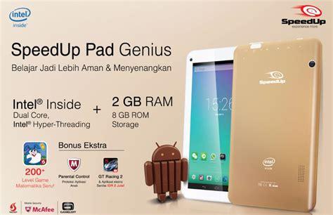 Tablet Android Speedup Pad Genius 8gb spesifikasi harga speedup pad genius tablet intel atom