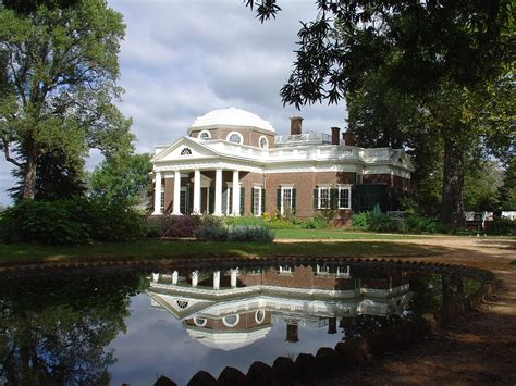 history of monticello file monticello reflected jpg