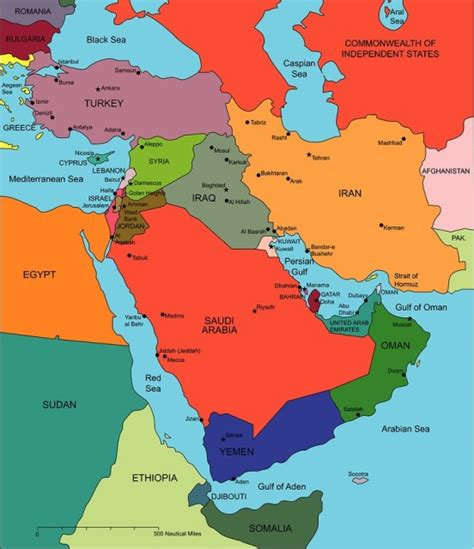 uae map middle east uae map middle east united arab emirates also map oman and