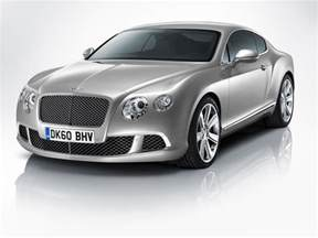 Bentley Conti Gt The New Bentley Continental Gt Four Seat Coupe