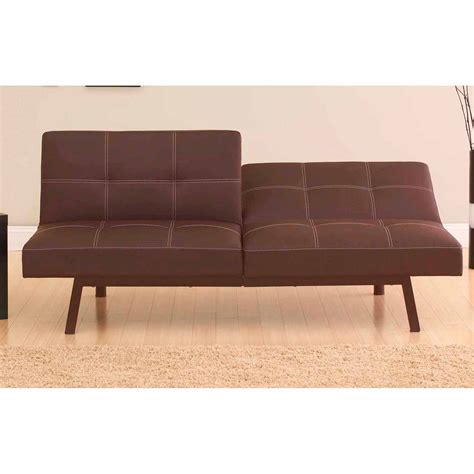 futon walmart furniture fabulous faux leather futon sofa for modern