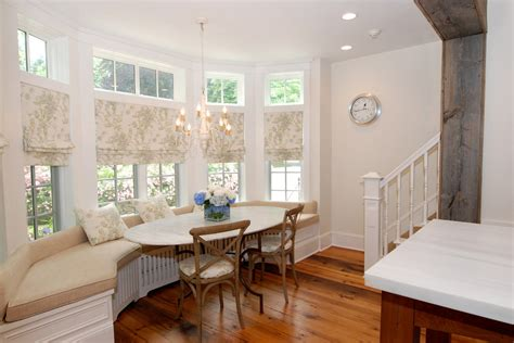 Dining Room Bay Window Treatments Bay Window Treatments Living Room Contemporary With Curtains Baseboards