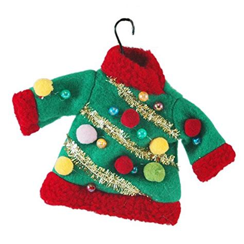 ugly christmas sweater ornaments unique christmas