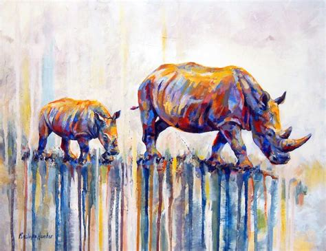 watercolor tattoos johannesburg watercolor rhinos by penelope find work at