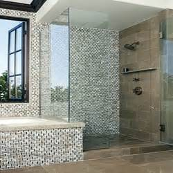 Mosaic Tiles In Bathrooms Ideas Mosaic Bathroom Tile Ideas For Showers Home Improvement