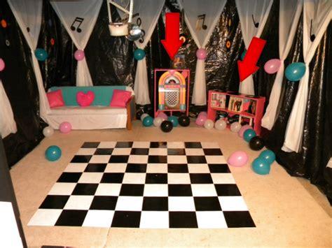 diy sock hop decorations how to throw a garage home decor ideas