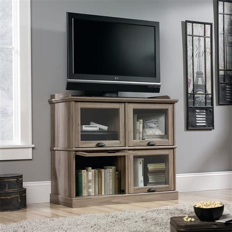 sauder barrister lane bookcase sauder barrister lane highboy tv stand