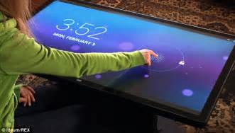 Giant ideum touchscreen table will play games apps and control smart
