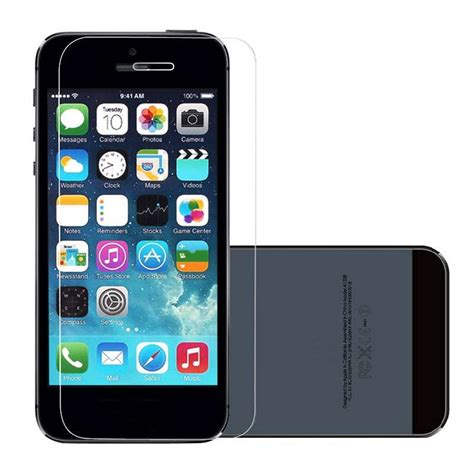 Temperd Glass Color Iphone7 1 9h hardnesstransparent color screen protector for