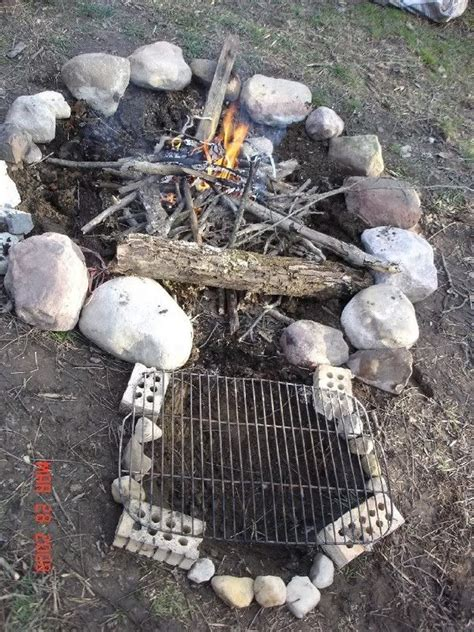 Keyhole Pit keyhole firepit cooking outdoors cooking and cfires