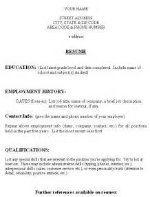 Free Templates For Resumes To Print Pin Free Printable Resume Template By Joshgill On Pinterest
