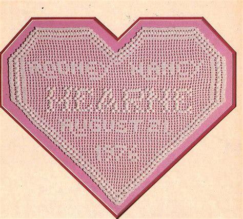 wedding anniversary record crochet pattern to make filet wedding anniversary record
