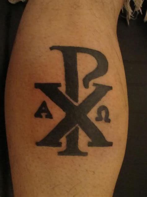 chi rho tattoo chi rho ink ideas