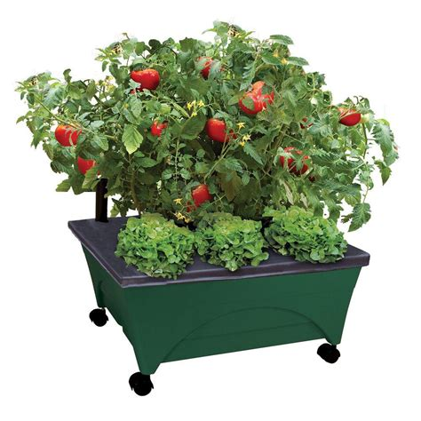 Patio Pickers by City Pickers 24 5 In X 20 5 In Patio Raised Garden Bed