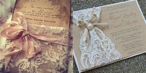 How To Make Handmade Invitation Cards - awesome handmade wedding invitations in unique styles