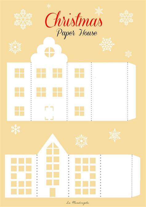 printable advent calendar house 1910 best tiny houses paper house putz houses images on