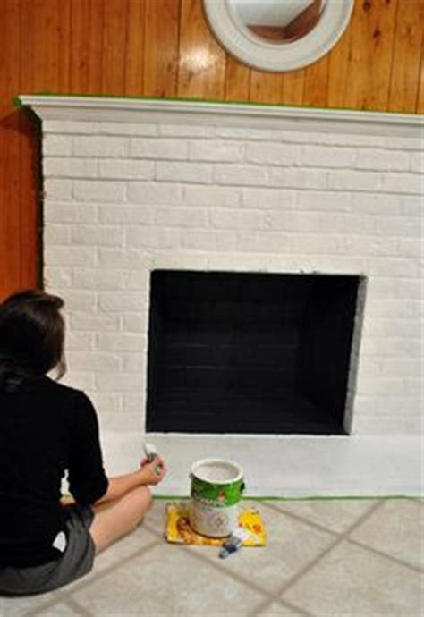 1000 ideas about painting a fireplace on