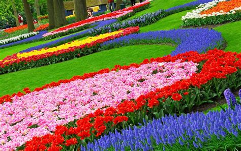 Flower Gardens Photos Garden Design Fascinating Colorful Garden Decoration Using Colorful Colorful Things