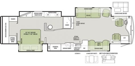 phaeton 36gh floor plan carpenters cers