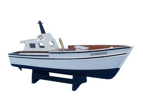model boat life rings buy wooden gilligan s island minnow model boat 14 inch
