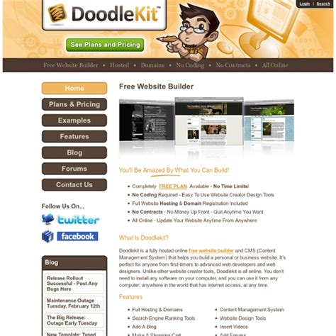 doodle kit free free website builder pearltrees