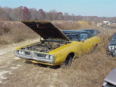 72 charger parts moparts cars in yards
