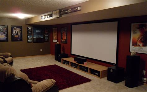 blubrown s home theater gallery blubrown s basement ht