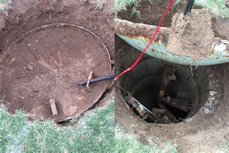buried in the backyard arizona man delves deep to find what s inside mysterious