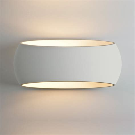 White Wall Lights Astro 7107 370 White Plaster Interior Wall Light At