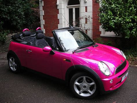 pink mini car 17 best ideas about mini cooper convertible on