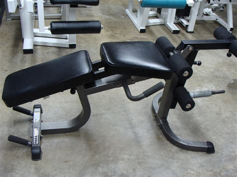 parabody bench attachments plate loaded leg curl and extension bench bodybuilding
