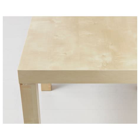 Ikea Birch Coffee Table Lack Side Table Birch Effect 55x55 Cm Ikea