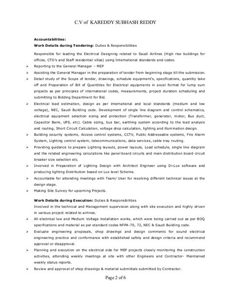 Sle Resume Electrical Mechanic Sle Resume Electrical Technician 28 Images Avionics