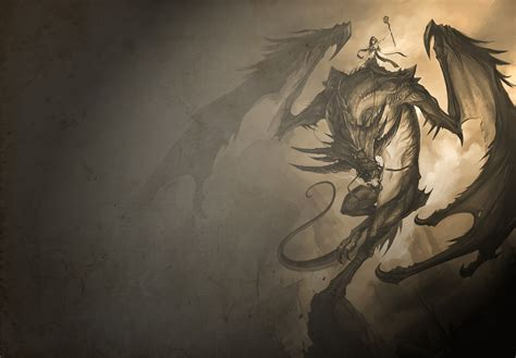 wallpaper dark dragon gallianmachi 3d fantasy dragon wallpapers