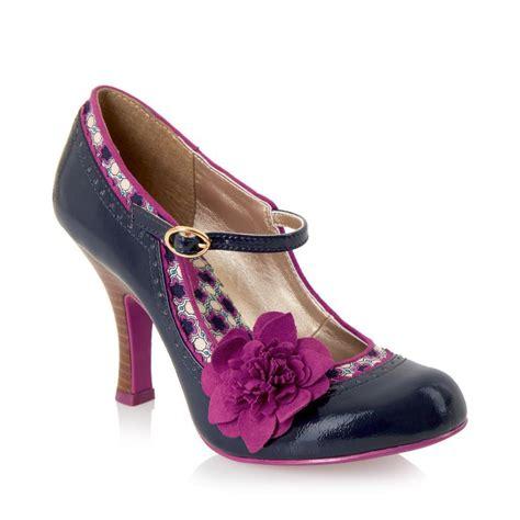 ruby shoo poppy shoes sz 3 9 blue pink mink beige