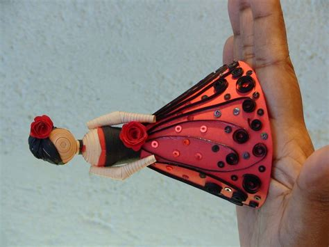 quilling design doll paper quilling dolls by sandy inoka at coroflot com