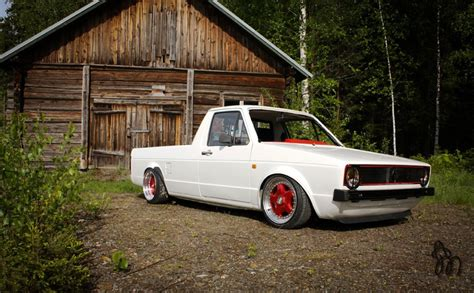 volkswagen rabbit truck custom mk1 vw rabbit truck bags 1 9tdic g60 brakes and 7 quot 9 quot x15
