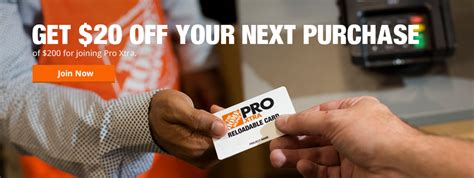 home depot pro extra pro xtra loyalty program for contractors professionals