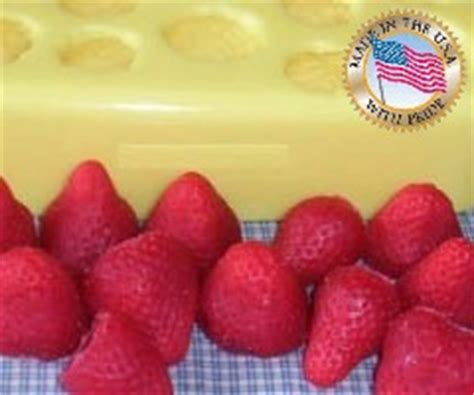 Medium 12 Cavity fruit molds for candles or soap
