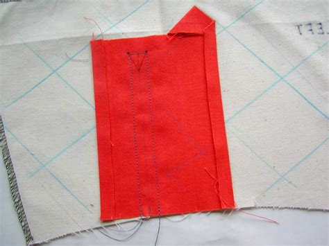learning to sew a shirt placket cut it out stitch it up sewing a shirt sleeve placket