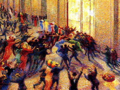 riot and craft garden city riot at the gallery by umberto boccioni